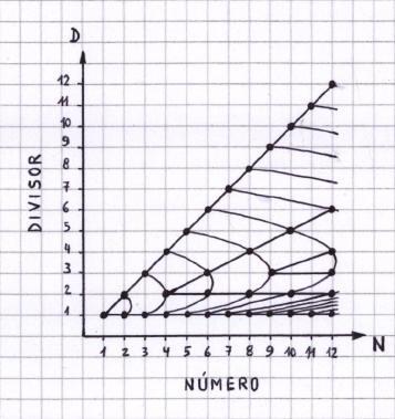 Números Primos - La red de factores